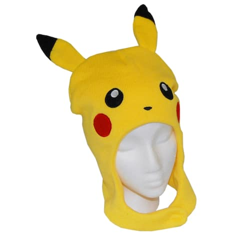 Pokemon Pickachu Beanie Hat - Yellow