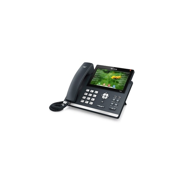 Yealink SIP-T48G Gigabit VoIp Phone with 7- Inch Touch Screen Panel