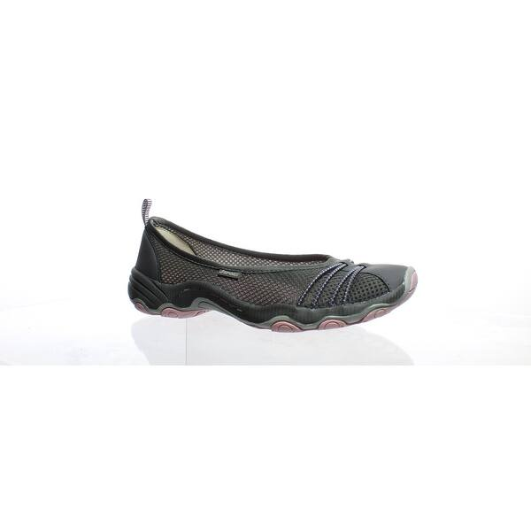 38104dcfd Shop Jambu Womens Spin Encore Dark Grey/Petal Ballet Flats Size 6 ...