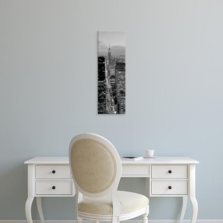 Easy Art Prints Panoramic Image 'View of a city, Fifth Avenue, Midtown Manhattan, New York City, New York' Canvas Art