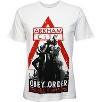 Batman: Arkham City Obey Order T-Shirt