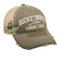 Outdoor Cap Bucket Mouth Mesh Back Olive/Kahki