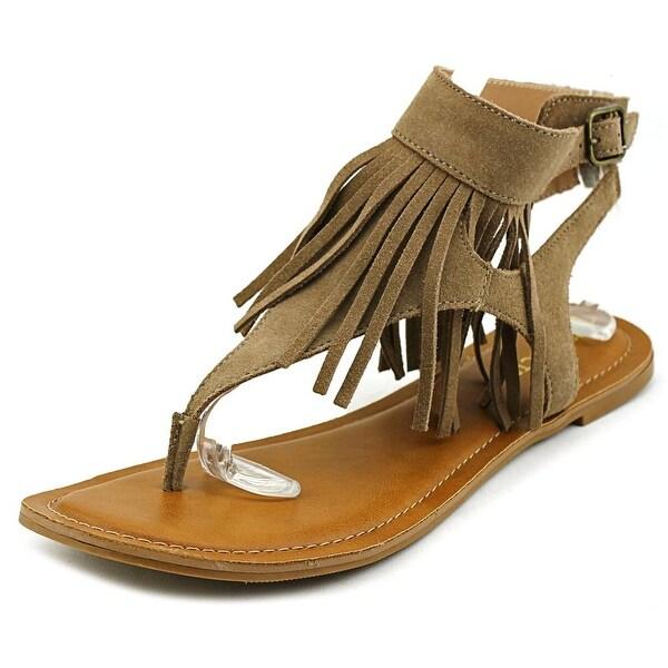 Restricted Kill It Women Open Toe Suede Thong Sandal