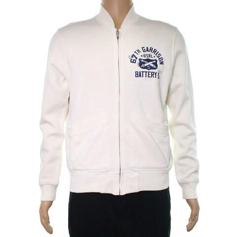 Polo Ralph Lauren Marshmellow White Men's Size XL Full Zip Sweater