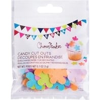 Flowers - Chocomaker(R) Edible Wafer Candy Cut Outs