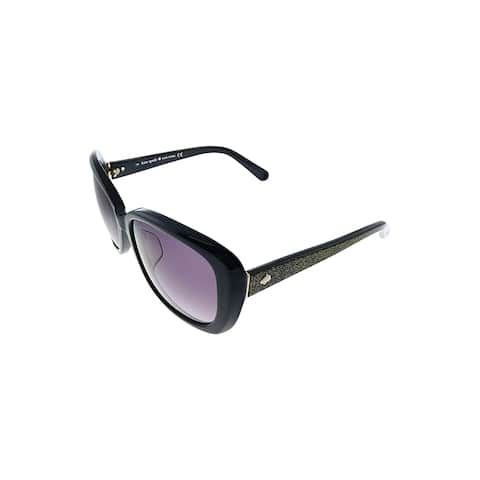 Kate Spade KS Tova/F/S 6JQ Womens Black Frame Grey Gradient Lens Sunglasses