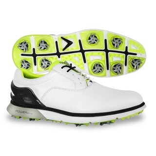 Callaway Men's LaGrange Golf Shoes - White/Lime