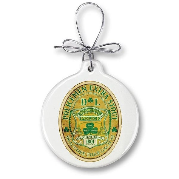 Police Christmas Ornaments.Christmas Ornaments Police Gifts For Men Or Women Police Ireland