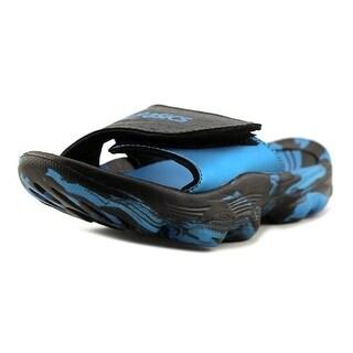Asics Iyashi Open Toe Synthetic Slides Sandal