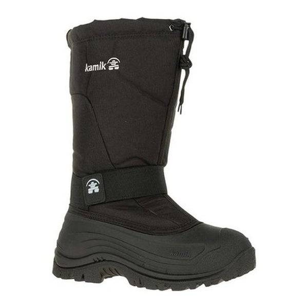 Greenbay 4 Pull On Snow Boot Black