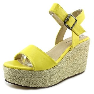 Michael Antonio Antee Women Open Toe Synthetic Wedge Sandal