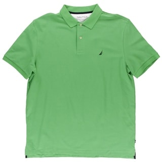 Nautica Mens Deck Shirt Pique Classic Fit Polo Shirt