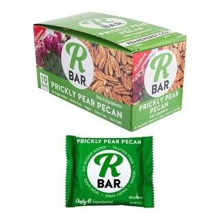 RBAR ENERGY Food Rbar Bar Prickly Pear Pecan Bxof10 1.6Oz - 7207