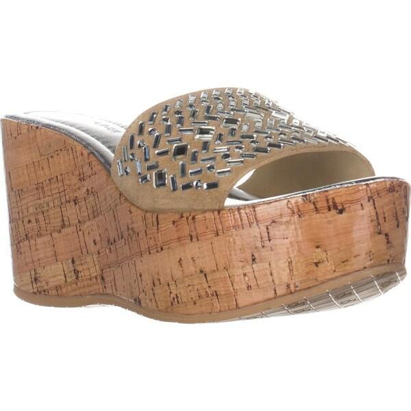 Donald J Pliner Cloesp Platform Dress Sandals, Sand
