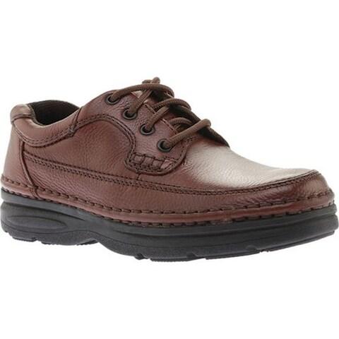 Nunn Bush Men's Cameron 83890 Moc Toe Oxford Comfort Gel Brown Tumble