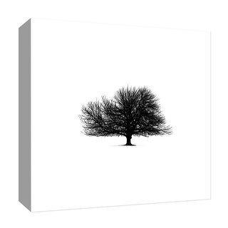 "PTM Images 9-126886  PTM Canvas Collection 12"" x 12"" - ""Black Tree"" Giclee Trees Art Print on Canvas"