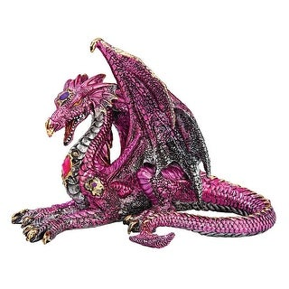 The Dragon of Lynton Stowey Statue DESIGN TOSCANO dragon of lynton stowey statue