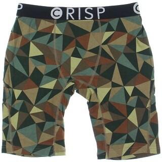 Crisp Mens Printed High Quality Boxers - L