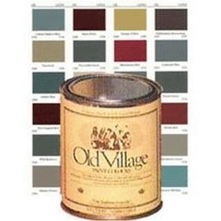 Oil Village 1702QT Acrylic Latex Paint Colonial White, 1 Quart