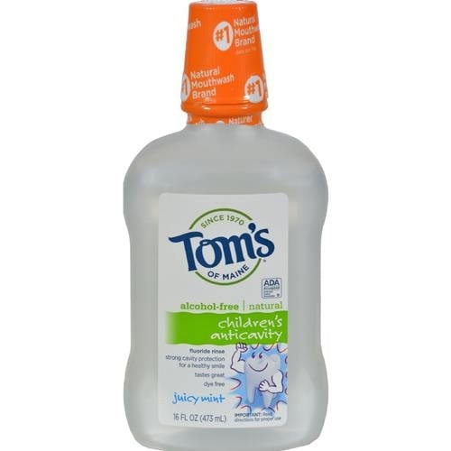 Tom's of Maine - Children's Anticavity Fluoride Rinse Juicy Mint Rinse ( 2 - 16 FZ)