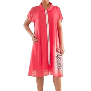 Soft & Easy Dress - Sizes 14, 16, 18 & 20 - Plus Size Clothing - La Mouette Collection