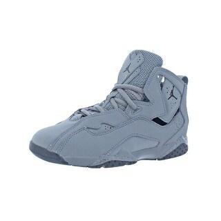 Jordan Boys True Flight Basketball Shoes Mesh Inset Cut Out (2 options available)