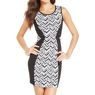 BCX Womens Juniors Casual Dress Knit Ponte