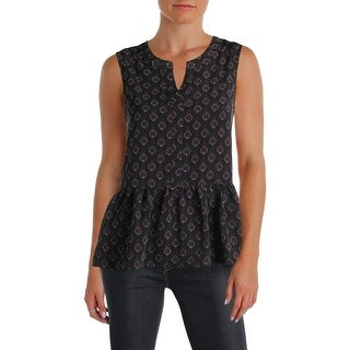 Cupcakes and Cashmere Womens Tank Top Pattern Peplum