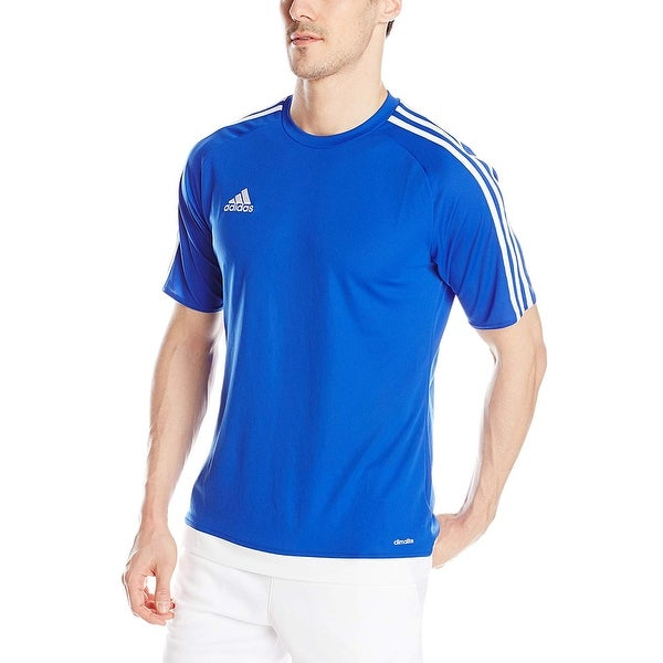 f5e906b7e Shop Adidas Boys Estro 15 Jersey T-Shirt Bold Blue Black Size Youth ...