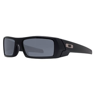 Oakley Gascan OO91403-471 Polished Black Grey Men's Sport Sunglasses - 60mm-15mm-128mm
