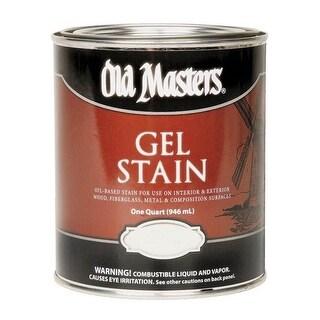 Old Masters 81104 Gel Wood Stain, Dark Mahogany, 1 Quarts