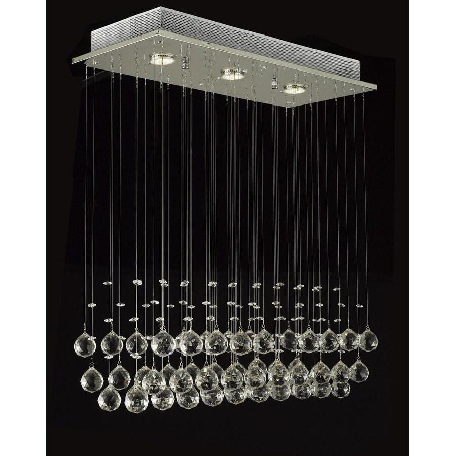 Crystal Ball Chandelier Raindrop Light