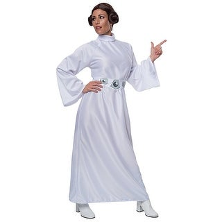 Star Wars Princess Leia Costume Adult Standard - White