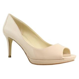 5ed5889b61e81f Quick View.  11.99. Nine West Womens Gelabellesynthetic LightNatural Open  Toe Heels ...