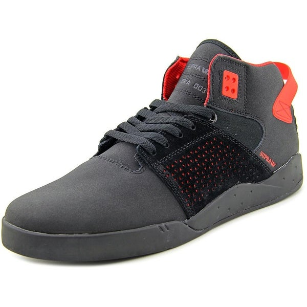 Supra Skytop III Round Toe Leather Sneakers