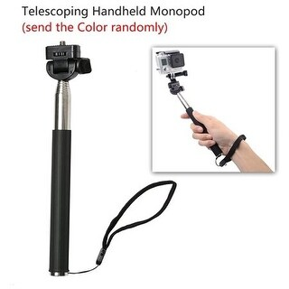 30 All-in-1 Monopod Pole Floating Head Chest Mount Accessories For GoPro Hero 4 3 +2 SJ400