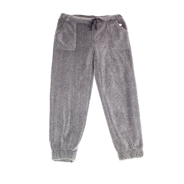05efbd35b Shop Wake Wear Gray Womens Size Large L Fuzzy Lounge Pants Sleepwear - On  Sale - Free Shipping On Orders Over  45 - Overstock - 27673575