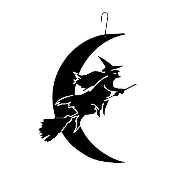 witch moon decorative hanging silhouette free shipping on orders