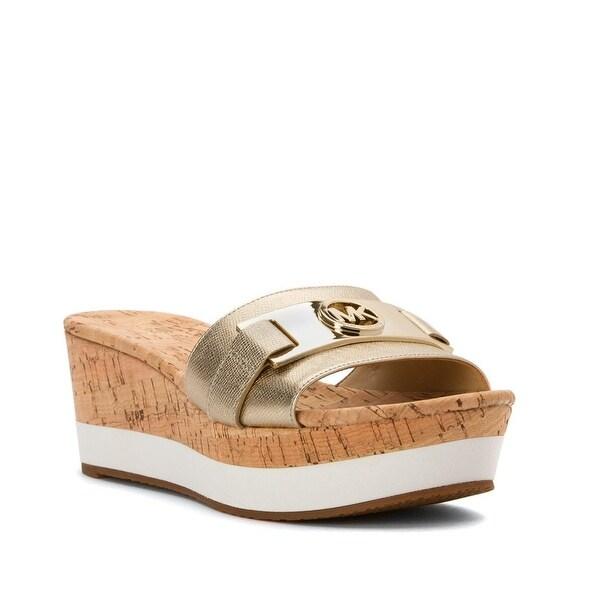MICHAEL Michael Kors Warren Platform Sandals - 10 b(m)