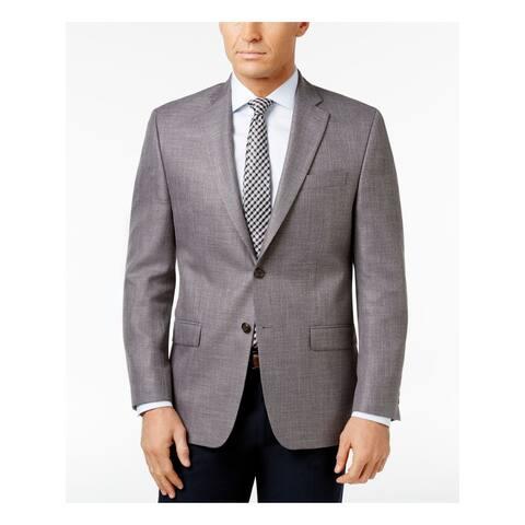 RALPH LAUREN Mens Gray Jacket 40L