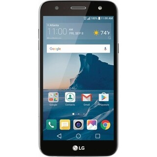 LG X CHARGE 16GB Unlocked Smart Phone - Black