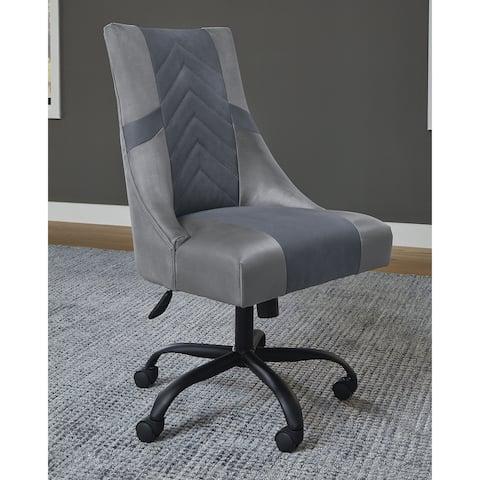 """Barolli Two-tone Swivel Gaming Chair - 22""""W x 25""""D x 42""""H"""