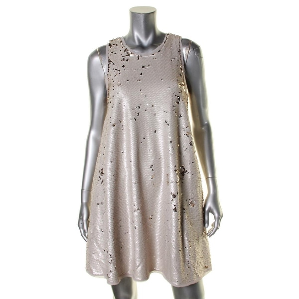 Shop Rachel Rachel Roy Womens Party Dress Sequined Frayed Hem - M - Free  Shipping Today - Overstock.com - 19620177 e78559a08412