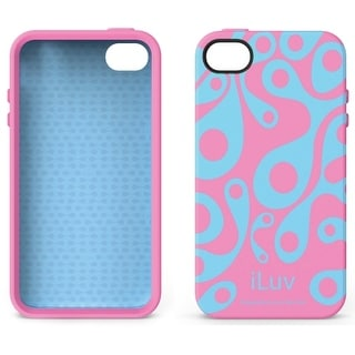 iLuv Glow-in-the-Dark Case for Apple iPhone 4/4S - Aurora Pink