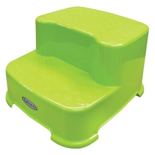 Shop Graco Sturdy 2 Step Transition Step Stool Green