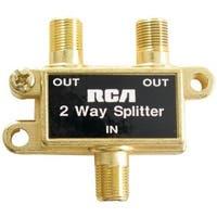 Rca VH47R Splitter -2 Way