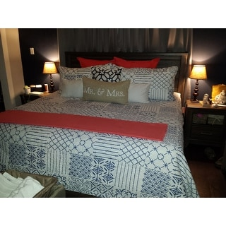 The Curated Nomad Sandia 3-piece Cotton Quilt Set