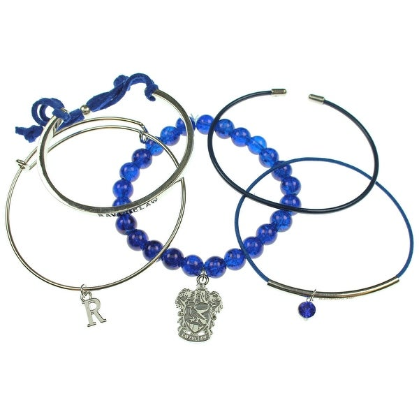 cf3d3bce2a0c Shop Harry Potter Ravenclaw Arm Party Bracelet Set - One Size Fits most - Free  Shipping On Orders Over $45 - Overstock - 21932152
