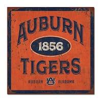 Auburn University Five & Dime Large Tin Sign