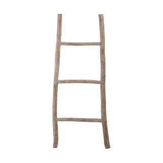 Dimond Home 594038 Wood White Washed Ladder - Small